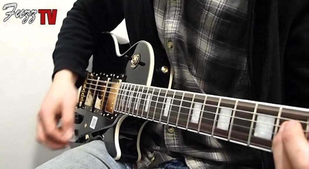 Fuzz Guitars Epiphone Les Paul Black Beauty Youtube
