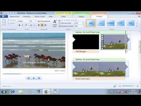 Passo a Passo - Windows Live Movie Maker