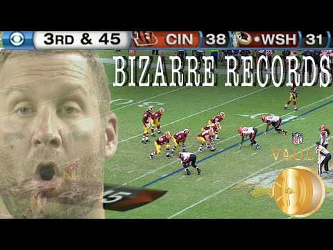 The Most Bizarre NFL Records of All-Time | NFL Vault