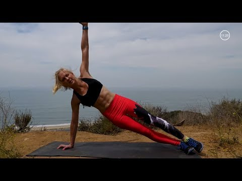 Abs Workout with Cardio Bursts - How to Lose Belly Fat