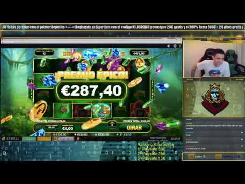 Casinokillers Online Casino/ 6 Bonos Seguidos En Epic Ape De Playtech/ Slotkiller/Killer Mode On