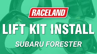 How To Install Subaru Forester Lift Kit (2009-2013)