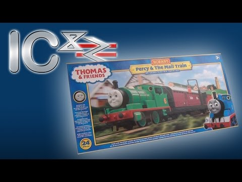 Opening the Percy & The Mail Train Set