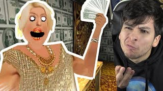 GRANNY TIENE MUCHO DINERO !! ¿PODREMOS ROBARLE? - Granny (Horror Game)