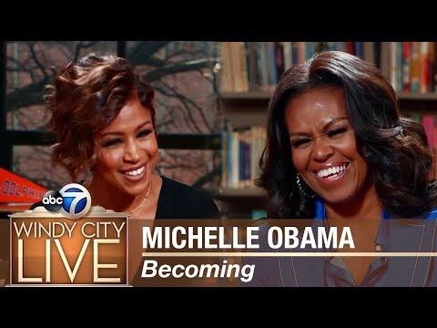 Michelle Obama discusses her new book Becoming - Part III
