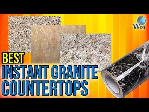 8 Best Instant Granite Countertops 2017