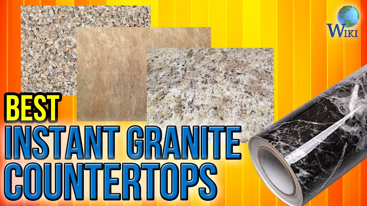 8 Best Instant Granite Countertops 2017