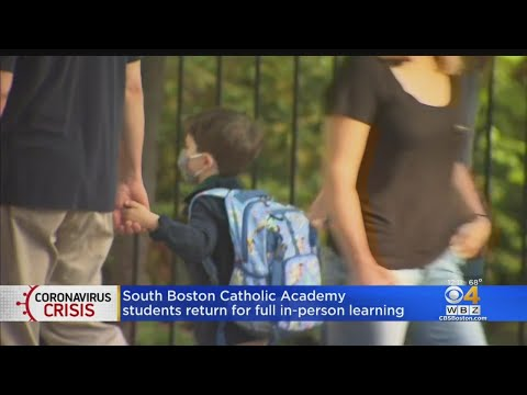 South Boston Catholic Academy Opens For In-Person Learning