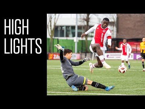Highlights Ajax O19 - NAC Breda O19