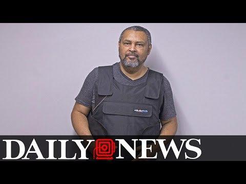 Kansas University professor teaches in bulletproof vest