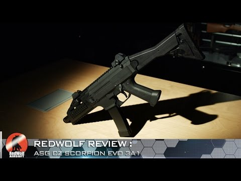 ASG Scorpion EVO 3A1 AEG Asia Edition - RedWolf Airsoft RWTV