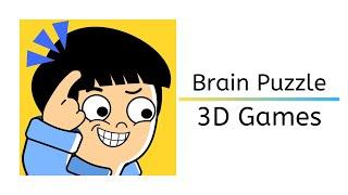 Brain Puzzle 3D Games Level 254