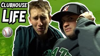 WHAT HAPPENS IN A COLLEGE CLUBHOUSE (Baseball)