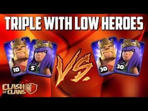 Town Hall 9 ( TH9 ) | 3 STAR With LOW LEVEL HEROES | War Attack Strategy 2018 | Clash Of Clans
