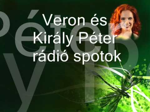radio spots by singer Veron (Boa Veronika) and Peter Kiraly (composer, arrangement)