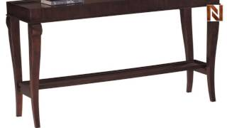 Metropolis Console Table 7-409 By Hekman