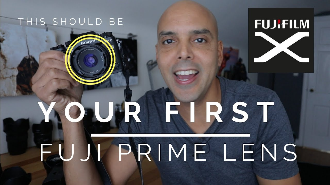 THIS should be your FIRST prime lens for your Fuji camera!