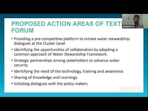National Workshop: Wastewater Reuse and Water Conservation in the Textile Industry