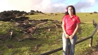 Easter Island's Ceremonial Village: Orongo (a tour given by local students)