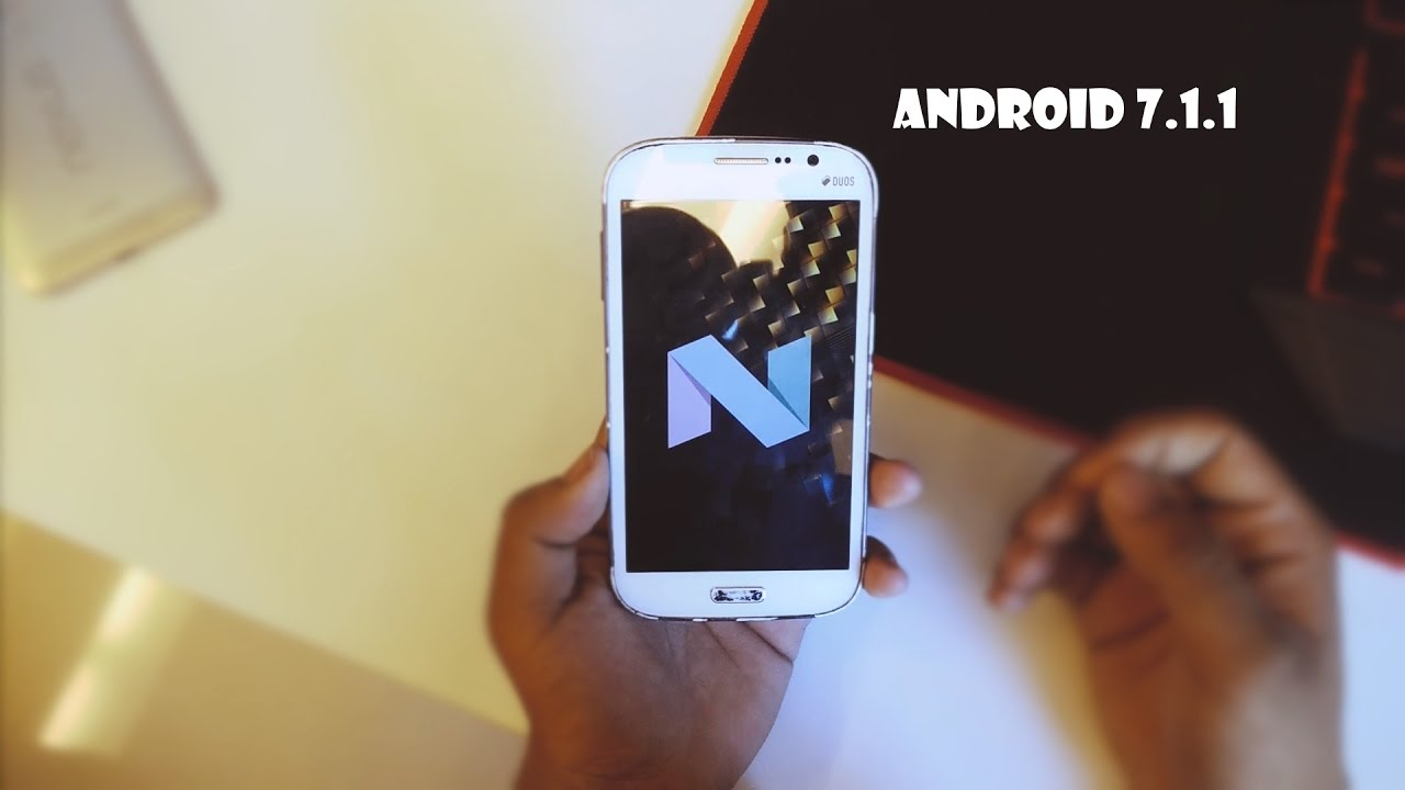 Android 7 1 1 On Galaxy Grand Duos i9082 Review [crDroid ROM] !