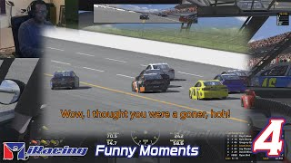 iRacing Funny Moments 4 - Class A, B, C, PickUp / Carb Cup RadioActive!