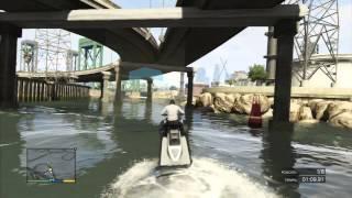 GTA V: Locuras, dardos, acrobacias aéreas, explosiones y mas
