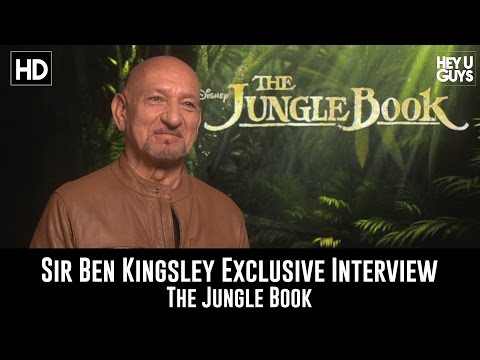 Sir Ben Kingsley Exclusive Interview - The Jungle Book
