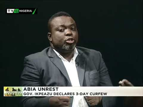 Journalists' Hangout September 13th 2017 | Abia unrest