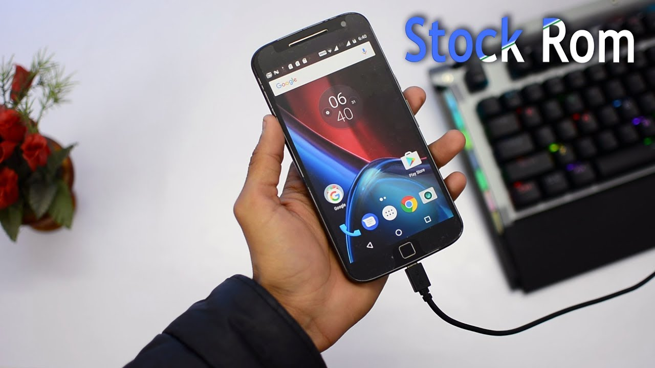 Moto G4/G4 Plus : How to install Stock rom | Unbrick the device
