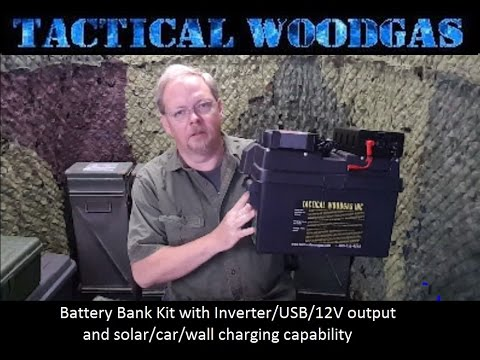 Installation of home/camping battery bank