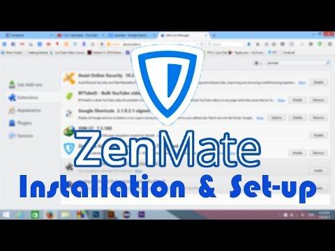 ZenMate - The Best VPN - Installation & Setup