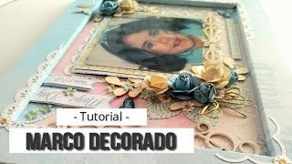 "MARCO DECORADO ""BEAUTIFUL"" COLABORACION CON KORA PROJECTS - TUTORIAL 