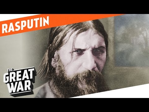 Rasputin  The Man Behind The Tsarina I WHO DID WHAT IN WW1?