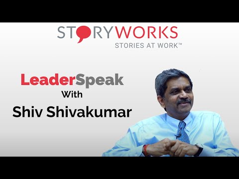 S01E02 - Stories At Work - Shiv Shivakumar in a conversation with Indranil Chakraborty StoryWorks