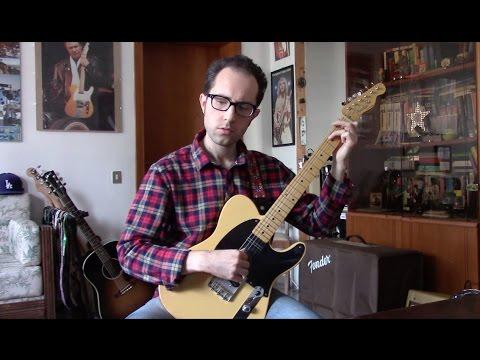 Twin Peaks Theme - Solo Guitar