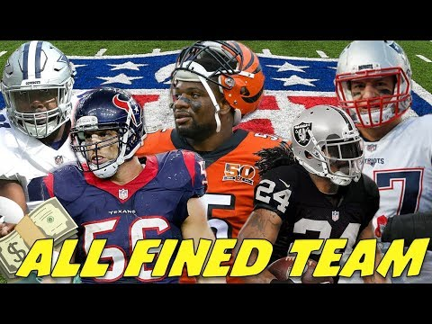 "ALL ""NFL FINED"" TEAM! SUPERSTARS ALL AROUND!"