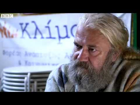 Greek economic crisis  Homeless artist warns of lost generation