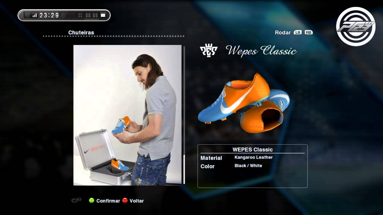 size 40 94c1e c0f7b PES 2013   Nike Mercurial Vapor IX  Blue-Orange  ▭ New Boots Novas  Chuteiras - YouTube