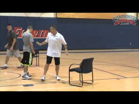 Billy Donovan Teaches You How to Pivot in the Post!