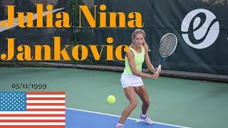 Julia Nina Jankovic College Video