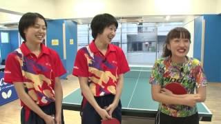 梅田彩佳のロケってみよう!:第6話・東京富士大学卓球部に出会う話 篇