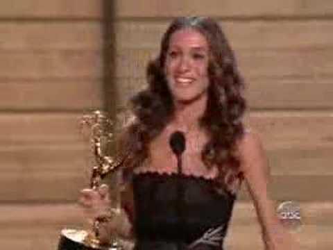 Sarah Jessica Parker´s speech on Emmy 2005
