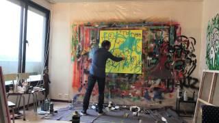 Kokian peint le tableau Rama Bird