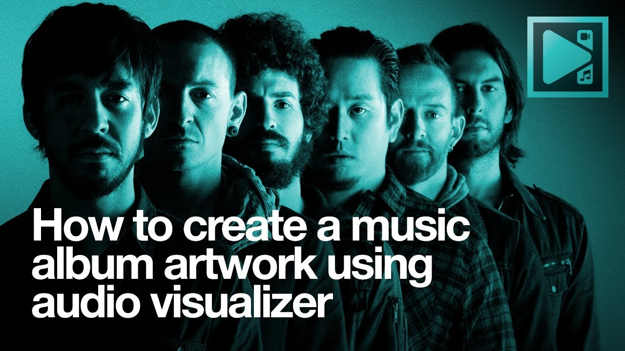 How to create a music album artwork using audio visualizer in VSDC Free  Video Editor