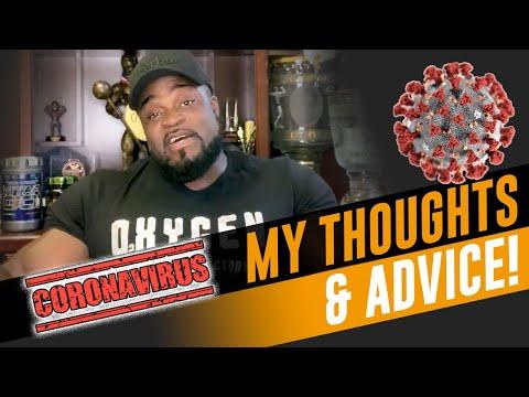 My Coronavirus Advice