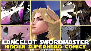 SUPERHERO SQUAD COMICS IN LANCELOT SWORDMASTER ENTRANCE ANIMATION MOBILE LEGENDS LANCELOT NEW SKIN!