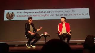 Dan and Phil - Interactive Introverts Premiere - Brazil