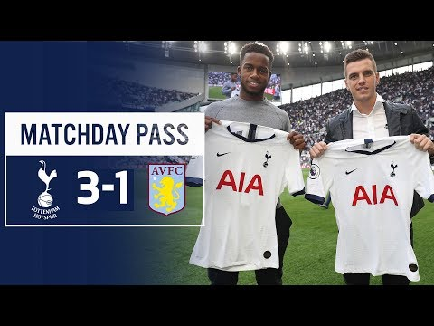 SPURS MATCHDAY PASS | TUNNEL CAM | Spurs 3-1 Aston Villa