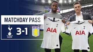 SPURS MATCHDAY PASS | TUNNEL CAM | Spurs 3-1 Aston Villa