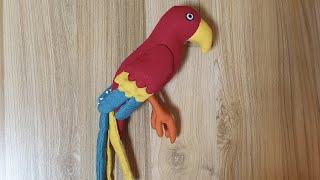 앵무새 만들기 / 手工鹦鹉制作